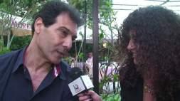 Enzo Rinella durante un'intervista
