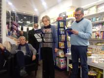Nicola Romano, Francesca Luzzio e Alfredo Santangelo