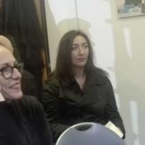 Cinzia Orabona e Letizia Lapis
