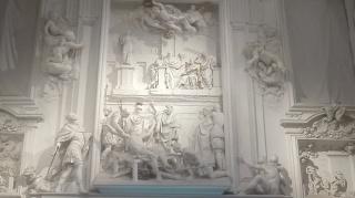 Stucchi di Giacomo Serpotta all'interno dell'Oratorio di S. Lorenzo