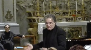 Giovanni Scalici direttore del coro Cum Iubilo