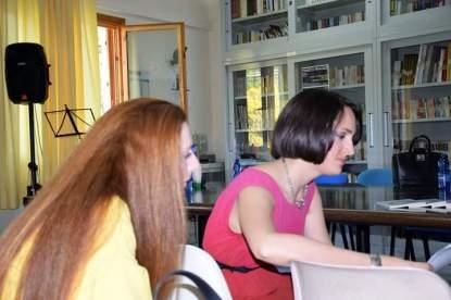 Luciana Cusimano e Lavinia Alberti