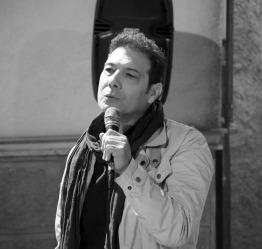 L'attore Enzo Rinella