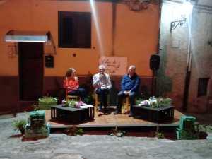 Calici di Poesie a Isnello: Luciana Cusimano, Biagio Balistreri, Antonino Schiera
