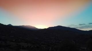 Tramonto a Castelbuono