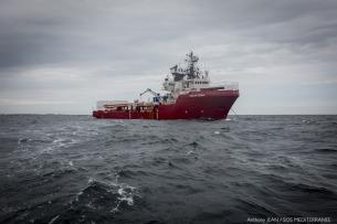 La nuova nave di soccorso Ocean Viking