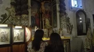 Chiesa di San Michele esposizione di paramenti sacri