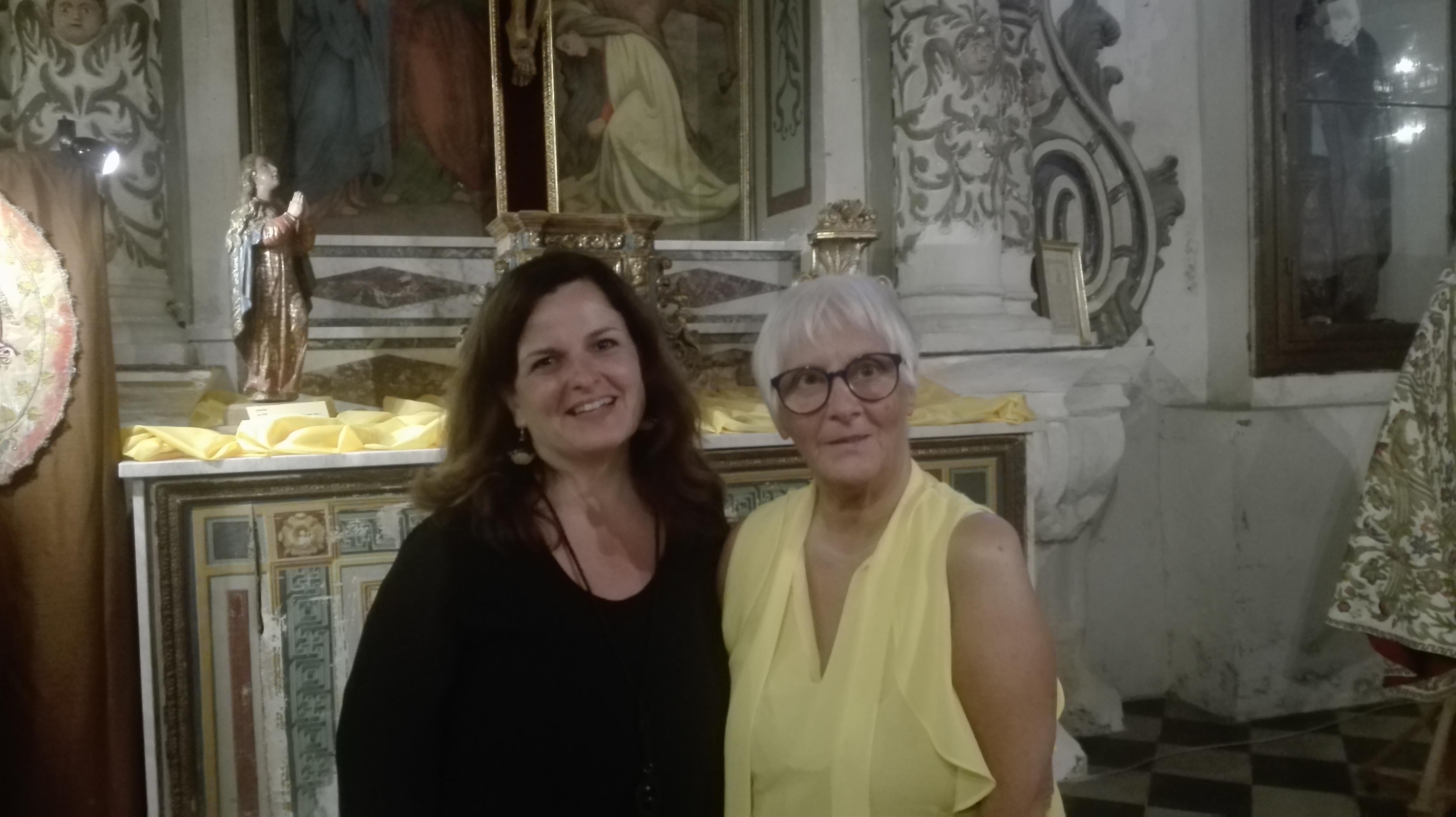 Giuseppina Alberti e Anna Cascio