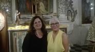 Giuseppina Alberti e Anna Cascio volontarie