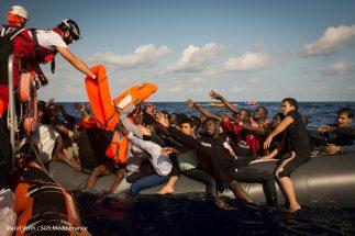 Foto tratta dal sito Sos Mediterranee
