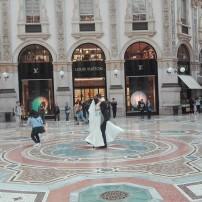 Sposi - Galleria Vittorio Emanuele