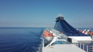 Navigazione sul Mar Tirreno