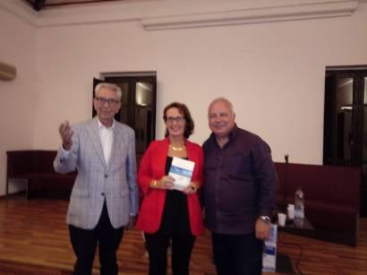 Biagio Balistreri, Antonietta Calderaro, Antonino Schiera a Capo D'Orlando