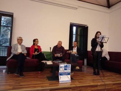Con Biagio Balistreri, Antonella Calderaro, Andrea Pruiti