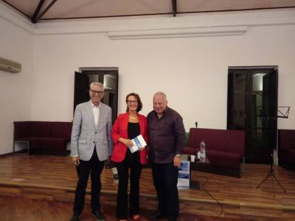Biagio Balisteri, Antonietta Calderaro, Antonino Schiera a Capo D'Orlando