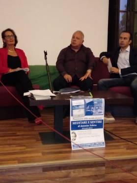 Antonietta Calderaro, Antonino Schiera Andrea Pruiti Ciarello a Capo D'Orlando