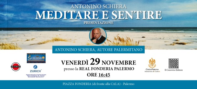 Presentazione di Meditare e sentire alla Real Fonderia di Palermo