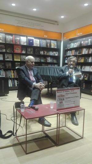 Alan Friedman e Leoluca Orlando