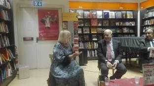 Letizia Battaglia e Alan Friedman e Leoluca Orlando