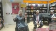 Letizia Battaglia, Alan Friedman e Leoluca Orlando