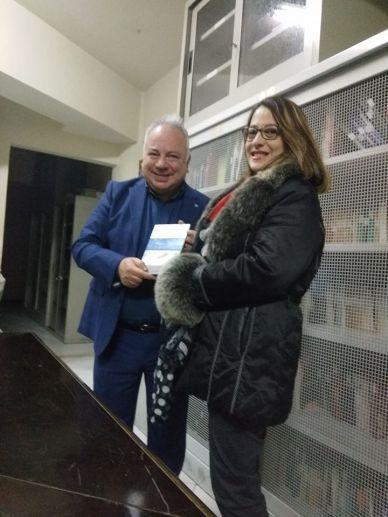 Antonino Schiera e Anna Agostara a Isnello