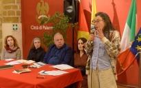 Emilia Ricotti alla Real Fonderia Palermo