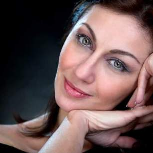 L'attrice Elena Pistillo (fotografia di Antonio Pistillo)