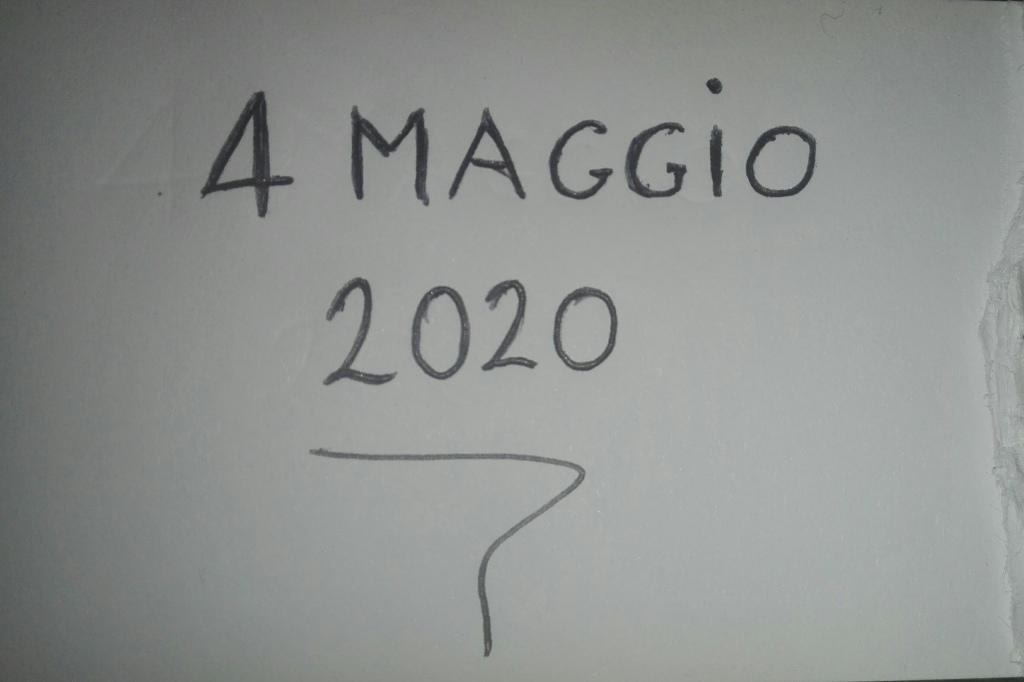 4 maggio 2020