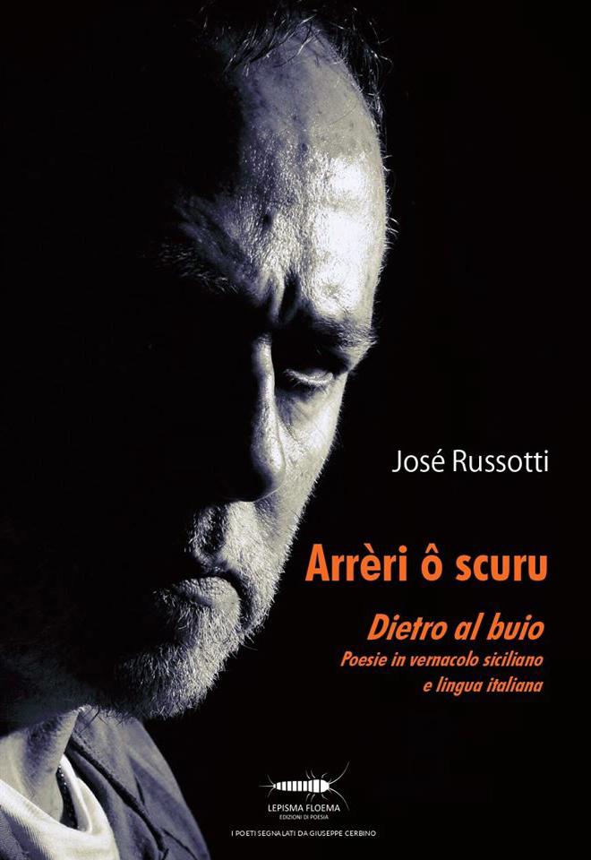 Josè Russotti copertina Dietro al buio